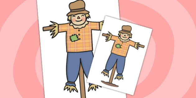 Scarecrow Cut Out - scarecrow, cut out, display, farm, field