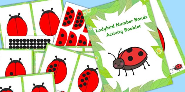 Ladybird Number Bonds Activity Booklet - activities, numbers