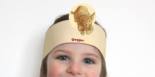 Role Play Headband to Support Teaching on Dogger - headbands, dressing, heads, activity