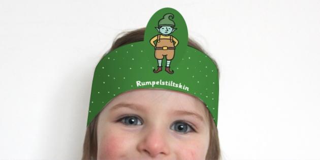 Rumpelstiltskin Role Play Headbands - story, roleplay, stories
