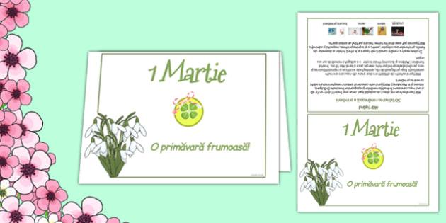 1 Martie - Felicitare