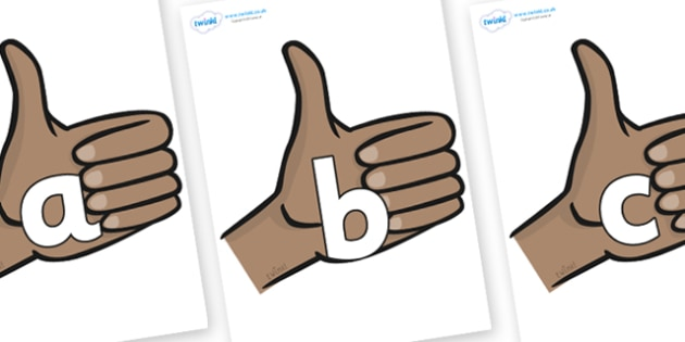 Phoneme Set on Thumbs Up - Phoneme set, phonemes, phoneme, Letters and Sounds, DfES, display, Phase 1, Phase 2, Phase 3, Phase 5, Foundation, Literacy