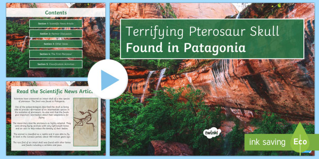 Terrifying Pterosaurs: Classification PowerPoint - Biology Week, classification, working scientifically, research, scientific enquiry, collaboration, h