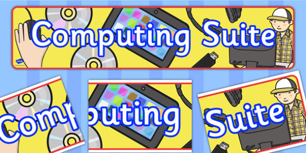 Computing Suite Banner - computing, suite, banner, display