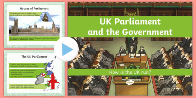 UK Parliament and the Government: How Is the Country Run? PowerPoint