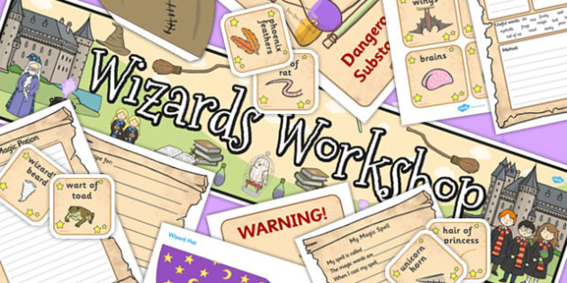 Wizard and Witches Workshop Role Play Pack - role play, pack