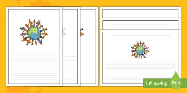 Australia - Harmony Day Writing Frame Pack - Harmony Day, cultural, diversity, writing frame, exposition