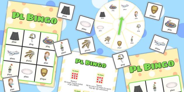 PL Spinner Bingo - pl, spinner bingo, spinner, bingo, game, activity, pl sound