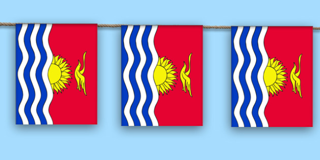 Kiribati Display Bunting