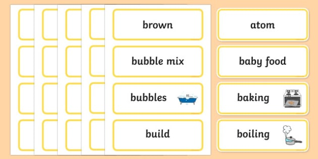 All Mixed Up Word Wall Display Cards - australia, Australian Curriculum, All Mixed Up, science, Year 2, word wall, display