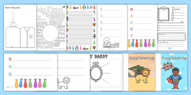 Father Day After School Club Activity Resource Pack - fathers day