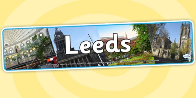 Leeds Photo Display Banner - leeds, photo banner, photo display banner, display banner, display header, header, banner, header for display, photos