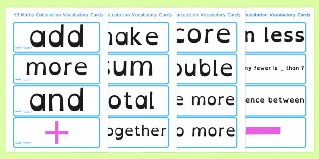 Reception Maths Numeracy Vocabulary Cards Dyslexia - maths vocabulary cards in dyslexia font, sen maths vocab cards, reception maths sen, sen numeracy, sen