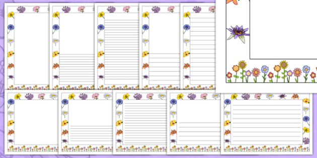 Mothers Day Page Borders - Mother's day, page border, border, writing template, writing aid, writing, Mother's day activity, Mother's day resource
