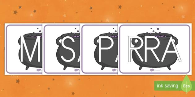 Calderos tarjetas de sílabas