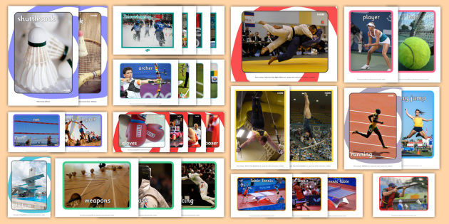 Olympic Sports Pictures Resource Pack - Picture Cards, olympic sports, resource pack, photo pack