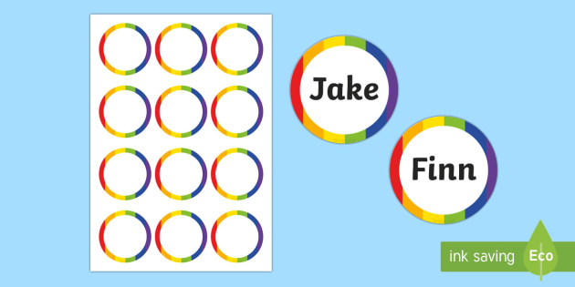 Generic Party Badges - generic, party, generic party, celebrate, badges, name badges
