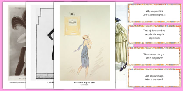 Coco Chanel Photopack and Prompt Questions - coco chanel, photo, pack, prompt, questions