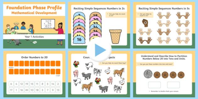 Reception/Year 1 Morning Mathematical Development Starter Activities PowerPoint