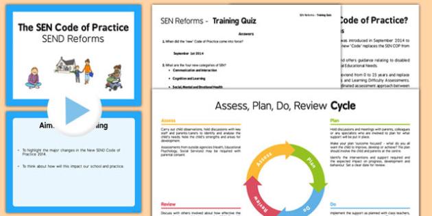 SEN Reforms Training Pack Secondary - sen, reforms, training, pack, secondary, train