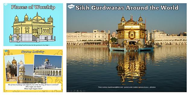 Places of Worship Sikh Gurdwaras KS2 PowerPoint - religion, ks2