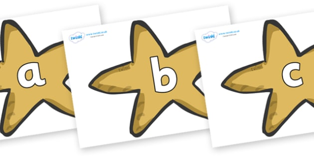 Phoneme Set on Starfish - Phoneme set, phonemes, phoneme, Letters and Sounds, DfES, display, Phase 1, Phase 2, Phase 3, Phase 5, Foundation, Literacy