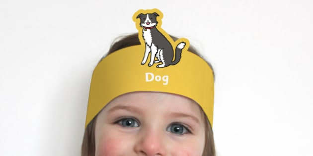 Dog Headband - dog, headband, dog headband, head band, role play