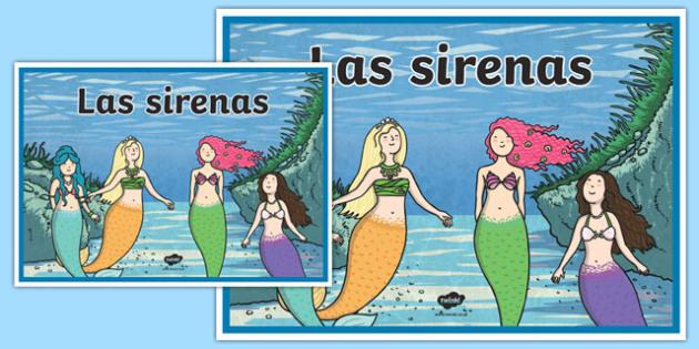 Cartel Las sirenas