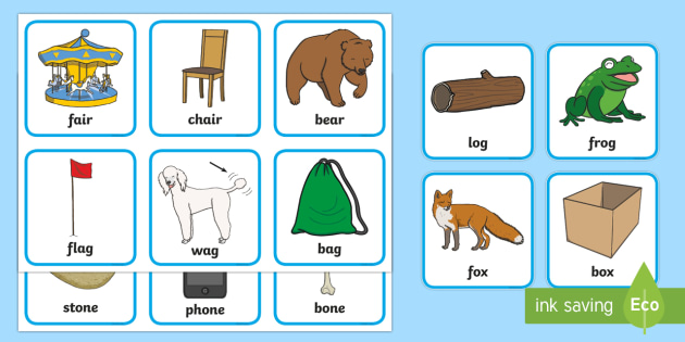 Matching Rhyming Cards - matching, match, rhyming, rhyme, cards, rhyming cards, matching cards, words