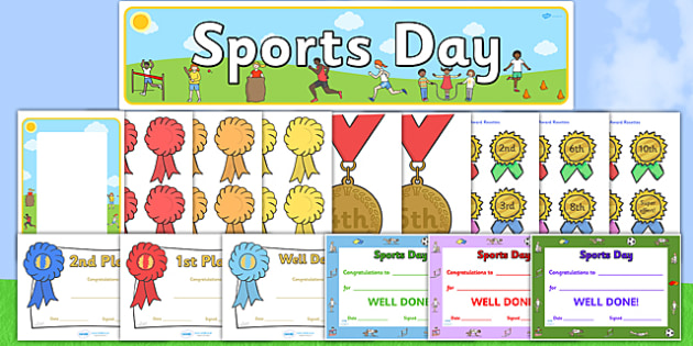 Sports Day Pack - sport, pe, sports, excersize, resource pack