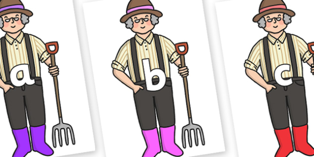 Phase 2 Phonemes on Enormous Turnip Farmer - Phonemes, phoneme, Phase 2, Phase two, Foundation, Literacy, Letters and Sounds, DfES, display