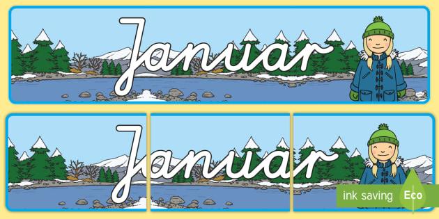 Januar Display Banner German - german, january, display banner, display, banner