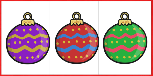 Extra Large Display Christmas Bauble Cut-outs (Patterned) - Christmas, xmas, bauble, large display, display, tree, advent, nativity, santa, father christmas, Jesus, tree, stocking, present, activity, cracker, angel, snowman, advent , bauble