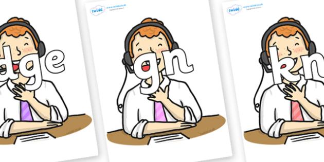 Silent Letters on Commentator - Silent Letters, silent letter, letter blend, consonant, consonants, digraph, trigraph, A-Z letters, literacy, alphabet, letters, alternative sounds
