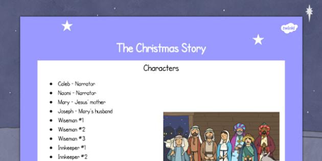 The Christmas Story Script - christmas, christmas story, script