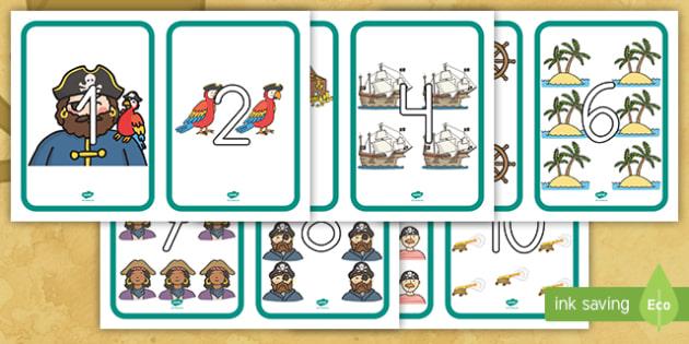 Números de exposición: Los piratas - Los piratas, proyecto, transcurricular, el mar, barcos, contar, ,Spanish