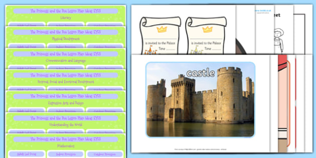 The Princess and the Pea EYFS Lesson Plan and Enhancement Ideas - lesson ideas