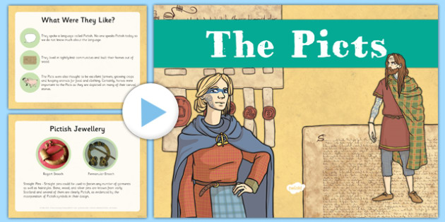 The Picts PowerPoint - CfE, Social Studies, The Picts, powerpoint