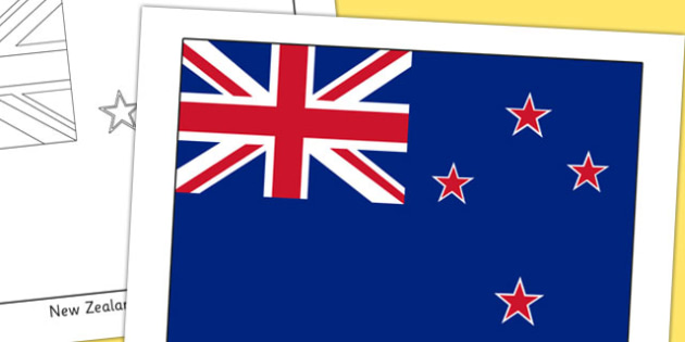 New Zealand Flag Display Poster - countries, country, geography
