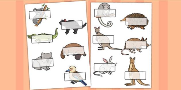 Australian Animals Self Registration - australia, aus animal, aus