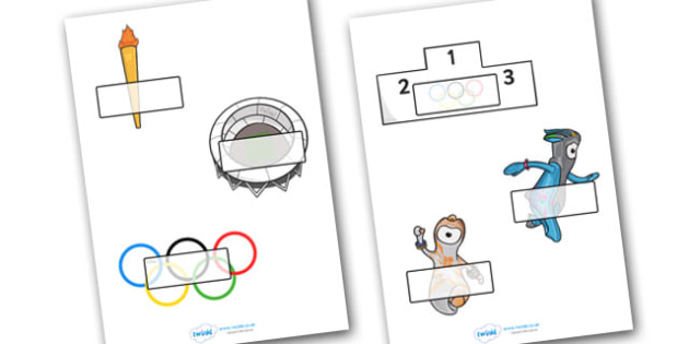 The Olympics Editable Self Registration - Olympics, Olympic Games, sports, Olympic, London, 2012, Self registration, register, editable, labels, registration, child name label, printable labels, Olympic torch, flag, countries, medal, Olympic Rings, m