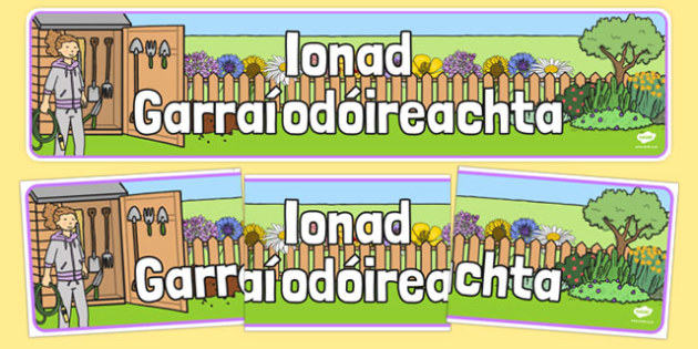 Ionad Garraíodóireachta - Banner, display, garden centre, plants, plant, topic
