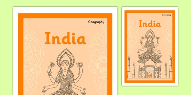 KS2 Around the World India - ks2, around the world, india, country, book cover