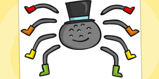 Incy Wincy Spider Split Pin - Australia, Incy, Wincy, Spider