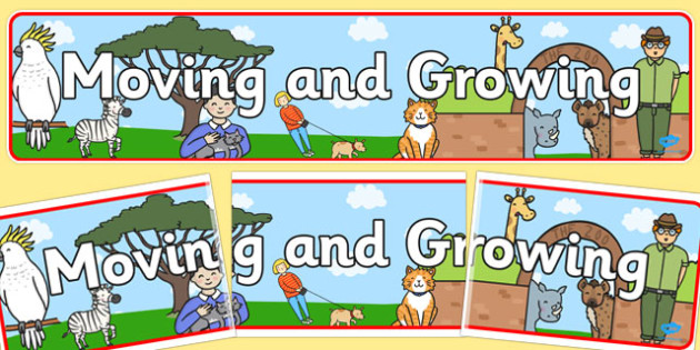Moving and Growing Display Banner - display banner, moving, growing