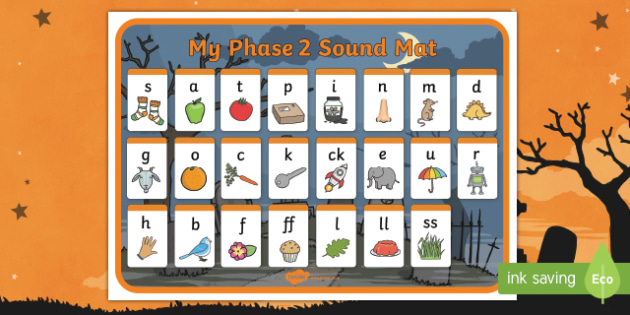Halloween Themed Phase 2 Sound Mat