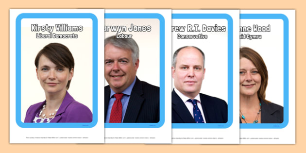 Welsh Assembly Elections 2016 Main Party Candidates Display Photos - welsh, cymraeg, Welsh Assembly Election 2016, Main Party Candidates, Display Photos