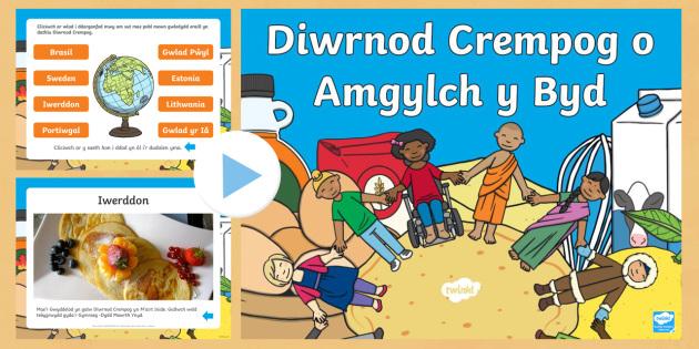 Diwrnod Crempog o Amgylch y Byd Pŵerbwynt - diwrnod, dydd mawrth ynyd, crempog, Mawrth, ynyd, Cristnogaeth, grawys,Welsh, dydd , ddydd, ddiwrnod