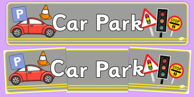 Car Park Display Banner - car park, display banner, display, banner