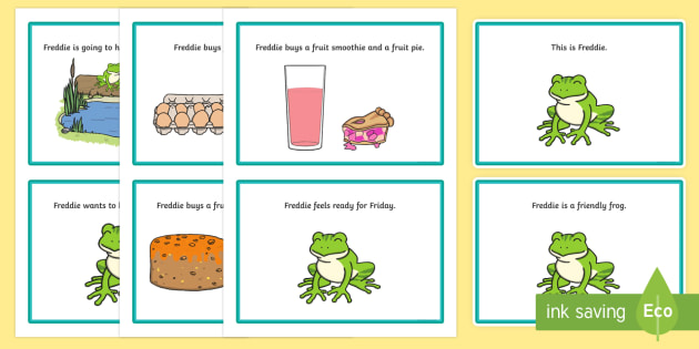 Initial 'fr' Word Story Cards - cluster reduction, cluster simplification, phonology, speech sounds, articulation, speech